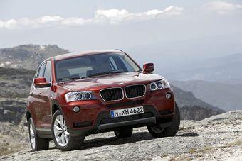 Новый X3 скоро появится в дилерских центрах BMW.