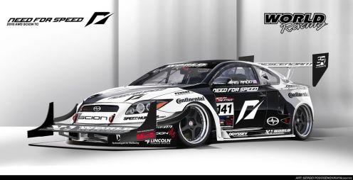 Команда Need for Speed построила полноприводный SciontC (мощность 1100л.с.)