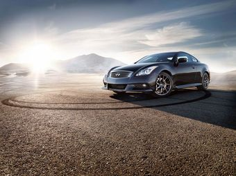Infiniti Performance Line G Coupe.