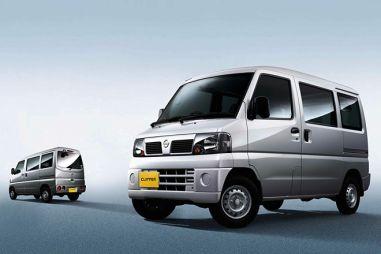 Nissan обновил модельный ряд грузовичков Clipper