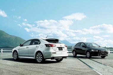 Mitsubishi обновила седан Galant Fortis и хэтчбек Sportback для внутреннего рынка Японии