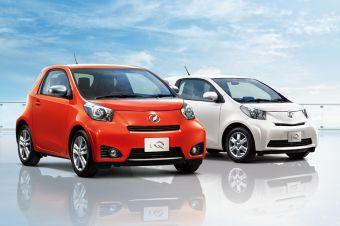 Toyota iQ GO. Новая комплектация на рынке Японии.