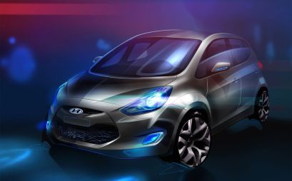 Hyundai привезет в Париж новый компакт-вэн B-класса — ix20