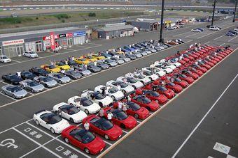 """В Японии """"тихим междусобойчиком"""" отпраздновали 20 лет с момента начала выпуска легендарного спорт- и супер-кара Honda NSX."""