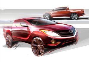 Mazda готовит к премьере второе поколение пикапа BT-50