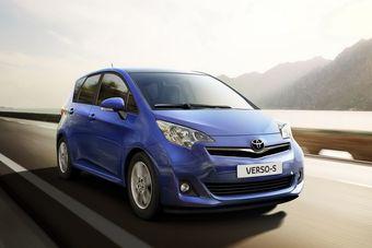 В Париже прошел премьерный показ новой модели компании Toyota для рынка Европы: Toyota Verso-S.