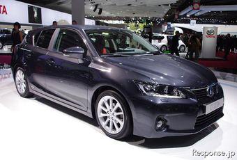 Новейший гибридный спорт-кар Lexus CT200h уже вот-вот поступит в продажу в Японии и Европе.