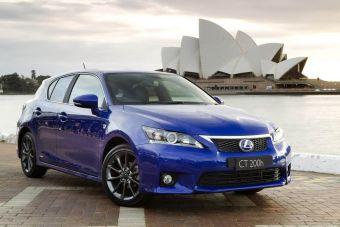 Lexus CT 200h в спортивной модификации F-Sport дебютировал в Австралии.