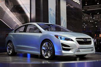 Subaru Impreza Design Concept показывает, какое будущее ожидает модельный ряд японского бренда.