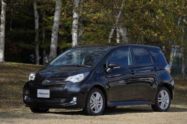 Toyota представила новое поколение хэтчбека Ractis в Японии