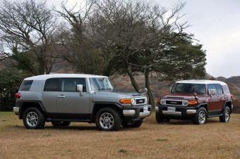 В Японии начинаются продажи Toyota FJ Cruiser.