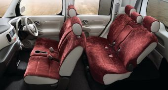 Nissan Cube 15X Party Red Selection