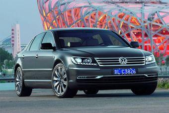 Volkswagen Phaeton нового поколения скоро в России.