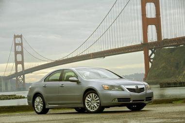Концерн Honda обновил флагманскую модель AcuraRL