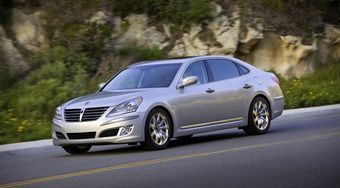 Hyundai Equus 2011 модельного года.