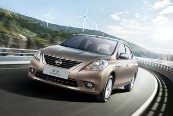 Nissan представил в Китае новый глобальный седан на базе Nissan Micra.