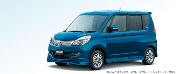 Suzuki выпускает новое поколение Solio