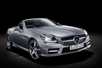 Родстер Mercedes-Benz SLK в третьем поколении выходит на мировой авторынок.