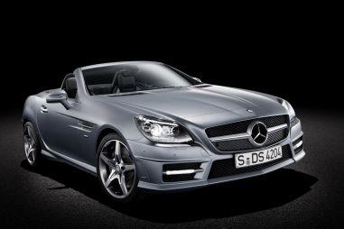 Родстер Mercedes-Benz SLK нового поколения официально представлен
