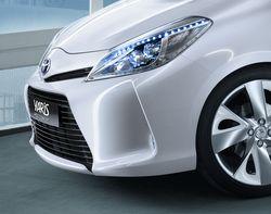 Toyota Yaris нового поколения будет официально представлен на Женевском автосалоне. Причем в гибридной модификации.