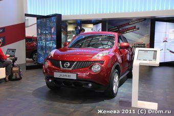Nissan Juke выходит на российский рынок.