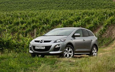 Названы цены на переднеприводную Mazda CX-7