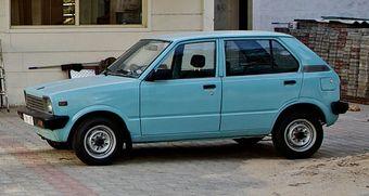 Maruti 800 DX, первая машина, собранная на предприятии Maruti Suzuki India.
