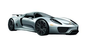 Объявлено начало продаж гибридного спортивного суперкара Porsche 918 Spyder.