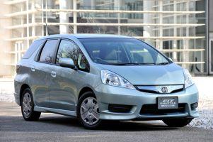 Honda Fit Shuttle дебютировал, но только нафотографиях