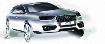 Через несколько дней в Шанхае пройдет официальная презентация нового кроссовера Audi Q3.