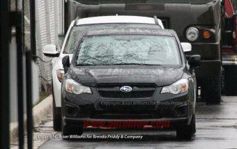 Новое поколение Subaru Impreza, комплектация для рынка США. Премьера машины пройдет через неделю в Нью-Йорке.