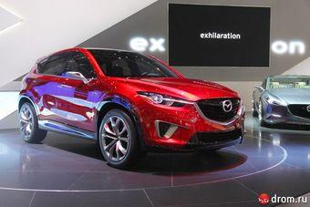 Прототип этой модели был представлен на автошоу в Женеве в марте текущего года под именем Mazda Minagi.