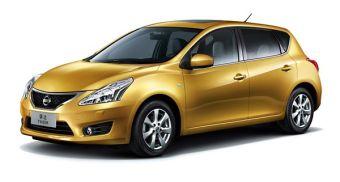 Новое поколение Nissan Tiida дебютировало в Китае.