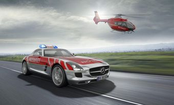 Mercedes SLS AMG Emergency Medical Vehicle