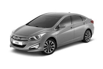 Седан Hyundai i40 попробует свои силы в европейском D-классе.