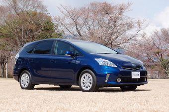 Toyota Prius Alfa стартовал в Японии.