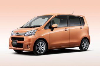 Subaru Stella отличается от Daihatsu Move только шильдиками, решеткой радиатора и передним бампером.