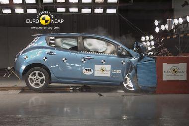 Новая серия краш-тестов отEuroNCAP: электрокар Leaf, люксовый хэтч CT200h идругие