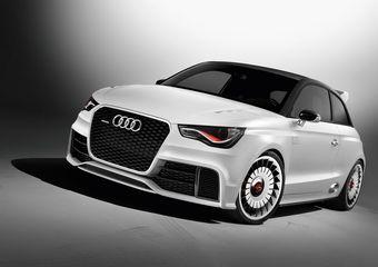Концептуальная модель Audi A1 Clubsport Quattro создана в единственном экземпляре специально для выставки в Австрии.
