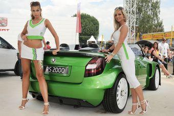 Два интересных кабриолета показаны на выставке в Австрии.