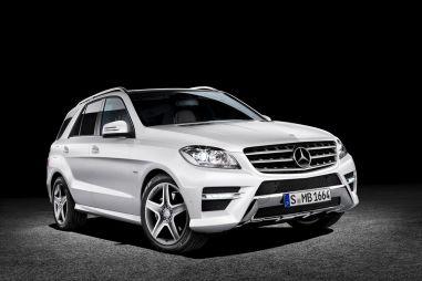 Новое поколение внедорожника Mercedes-Benz M-Class официально представлено