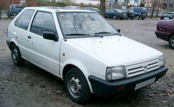 Nissan Micra K10. Модель создана в начале 80-х годов прошлого века.