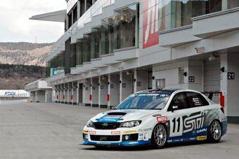 Subaru с успехом приняла участие в знаменитой гонке 24 часа на Нюрбургринг.