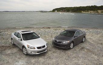 Японские модели Camry и Accord по-прежнему остаются самыми американскими машинами.