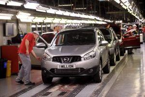 Английский завод Nissan выпустил миллионный Qashqai