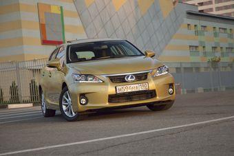 Продажи Lexus в Европе за первое полугодие 2011 года выросли на 42% и составили 21,983 единицы.