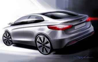 Тизер Kia Rio нового поколения, сборка которого будет проходить на заводе Hyundai в Санкт-Петербурге.