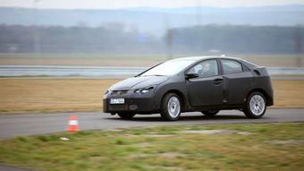 В середине сентября компания Honda представит новое поколение модели Civic в модификации для рынка Европы.