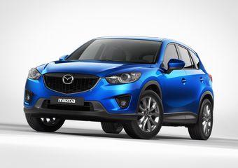 Mazda представила первые изображения нового кроссовера CX-5.