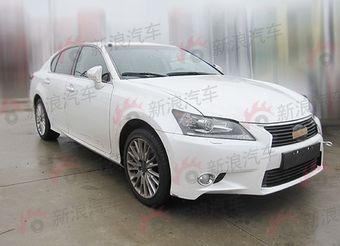 Китайский портал показал экстерьер Lexus GS всего за пару дней до его официальной премьеры.